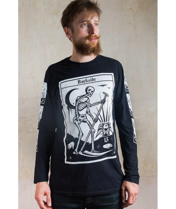 Tee Shirt Darkside Clothing Homme Death Tarot Card