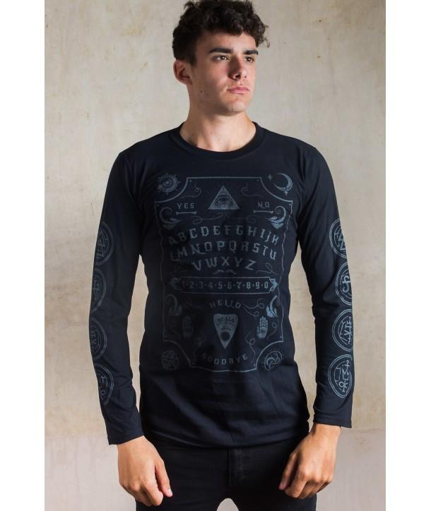 Tee Shirt Darkside Clothing Homme Grey Ouija Board