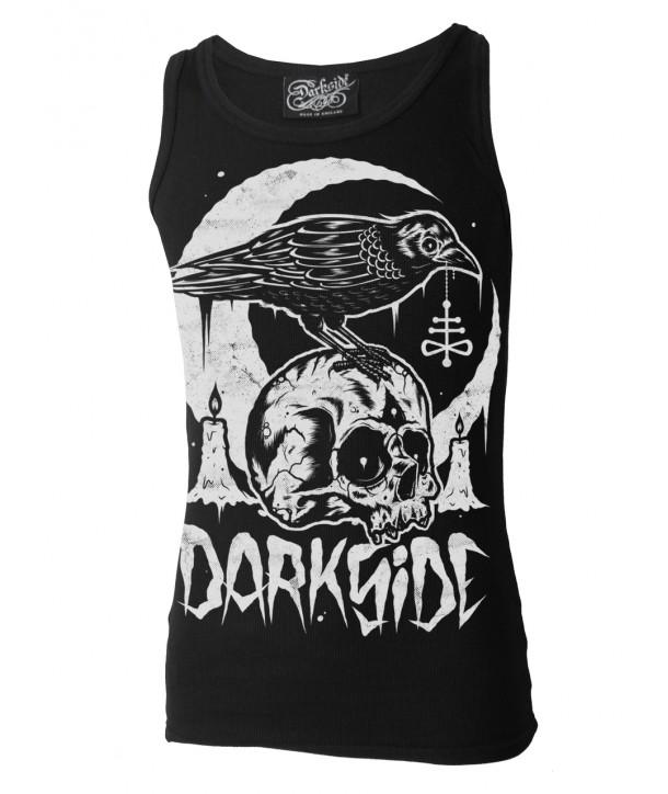 Debardeur Darkside Clothing Skull Crow