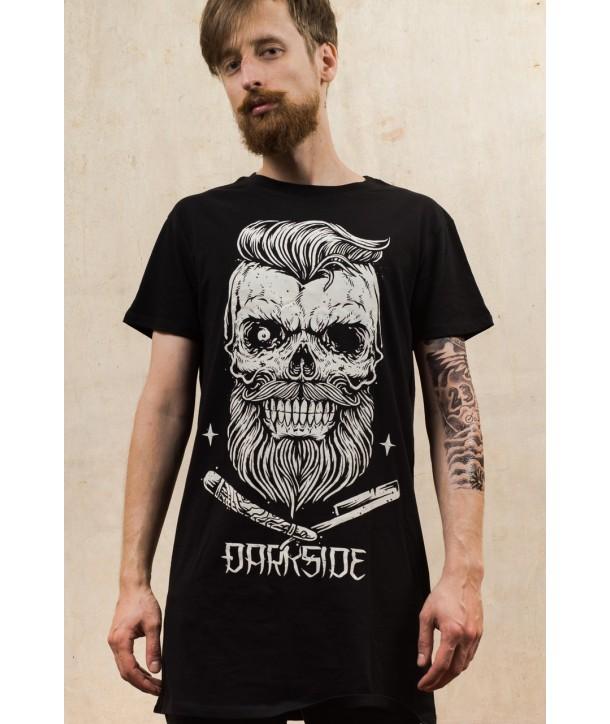Tee Shirt Darkside Clothing Bearded Skull