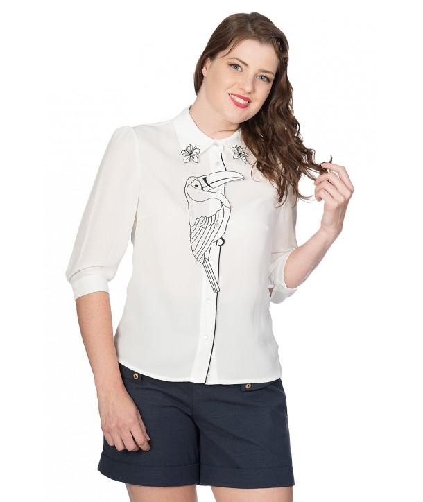 Chemise Banned Clothing Toucan