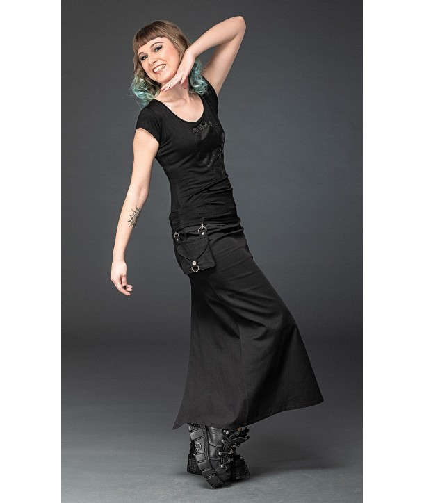 Jupe Queen Of Darkness Long Skirt With Removable