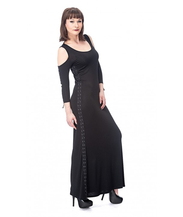 Robe Queen Of Darkness Free Dress Decorated