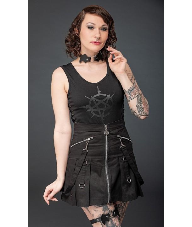 Jupe Queen Of Darkness Skirt Hight Waist