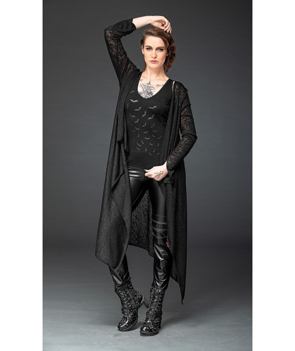 Cardigan Queen Of Darkness Tapered Sleeves