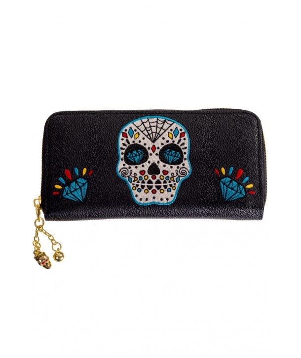 Porte Monnaie Banned Clothing Ticket To Ride Wallet Noir