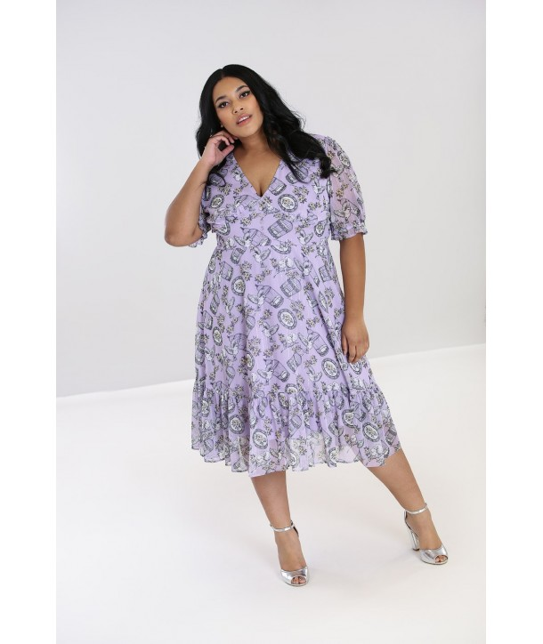 Robe Grande Taille Hell Bunny Willow Sparrow