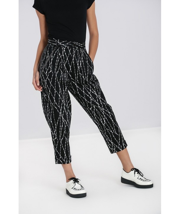 Pantalon Hell Bunny Barbed Wire