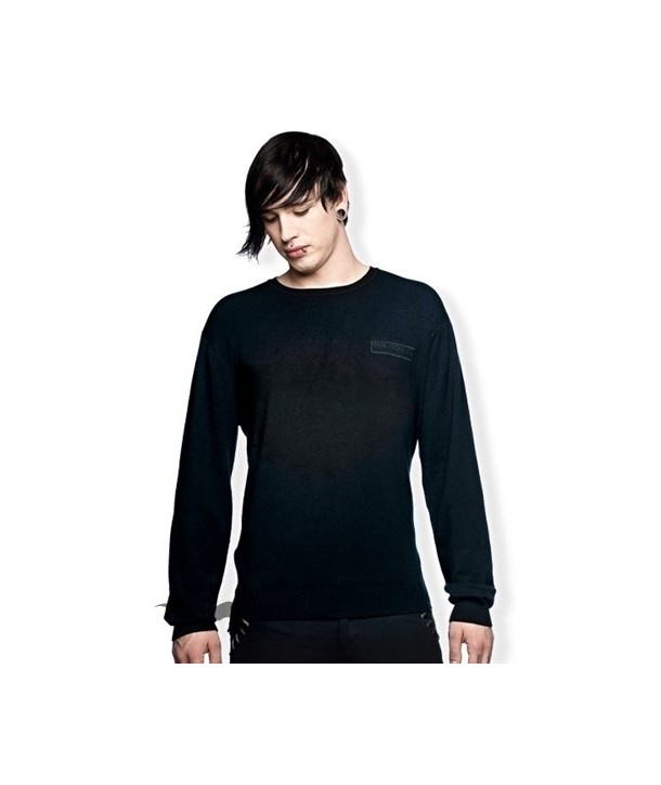 Sweat Shirt Queen Of Darkness Gothique Simple Black Sweater