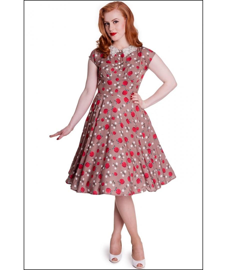 f2ddbc52824 robe hell bunny Francine Dress retro rockabilly pin-up gothique ...