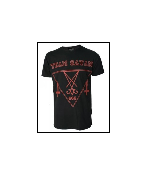 Tee Shirt Darkside Clothing Team Satan Cross