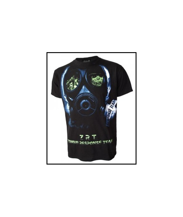 Tee Shirt Darkside Zombie Face Mask Zombie Face Mask
