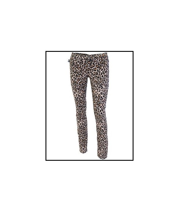 Pantalon Slim Darkside Clothing Natural Leopard