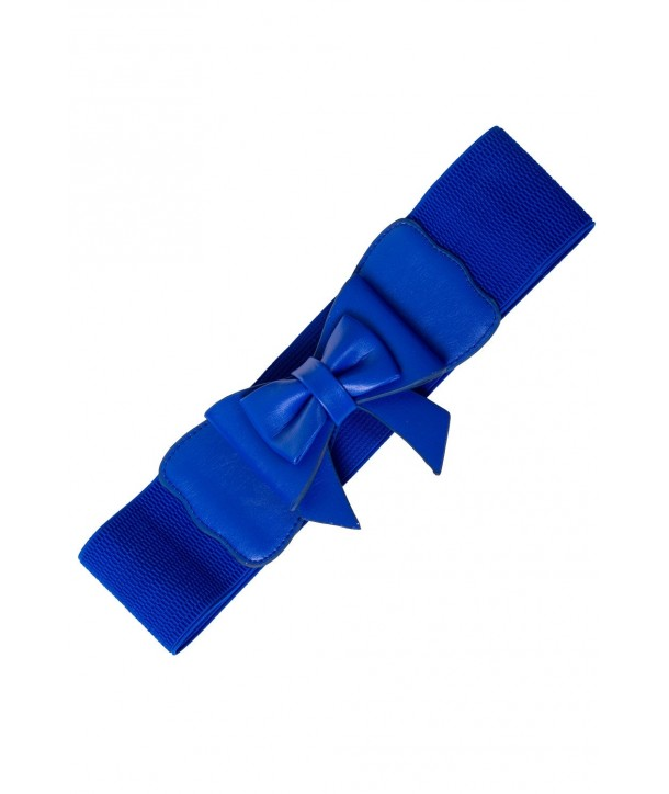 Ceinture Banned Clothing Play It Right Belt Royal Bleu