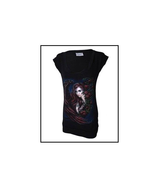 Robe Darkside Clothing Tattoo Angel Fitted T Dress