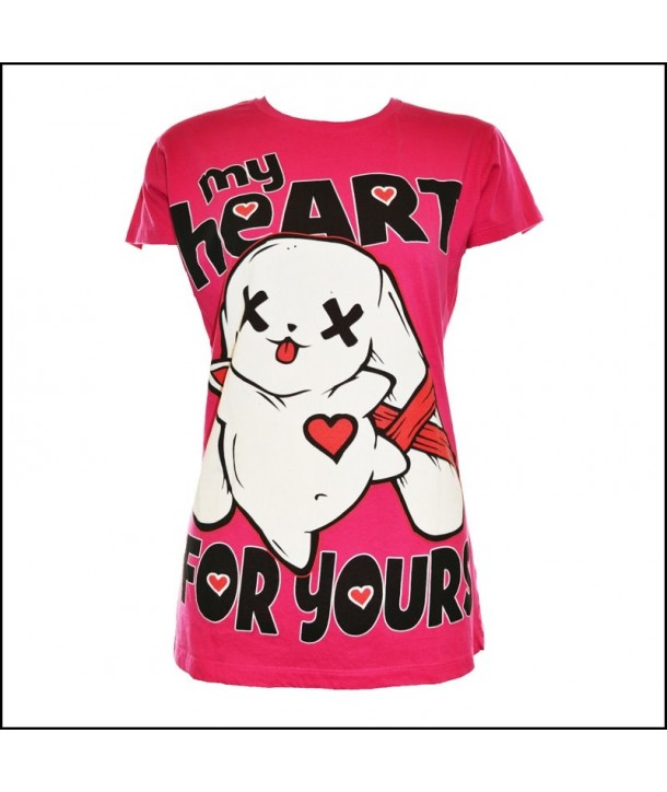 Tee Shirt Luv Bunny My Heart