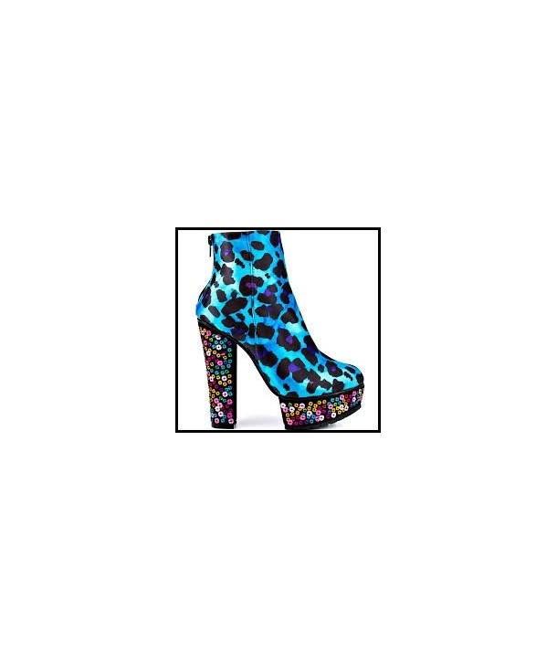 Chaussures Ironfist X Marks The Spot Bootie Blue