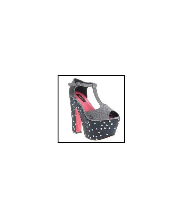 Chaussures Ironfist Starry Night Super Platform