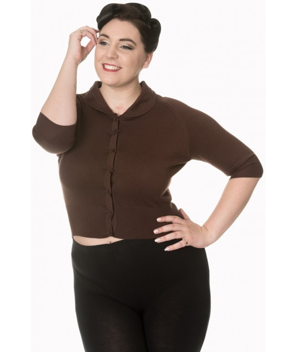 Cardigan Banned Clothing April Brown