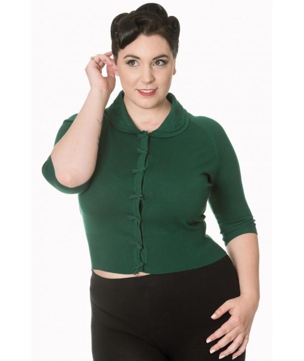 Cardigan Banned Clothing April Dark Green