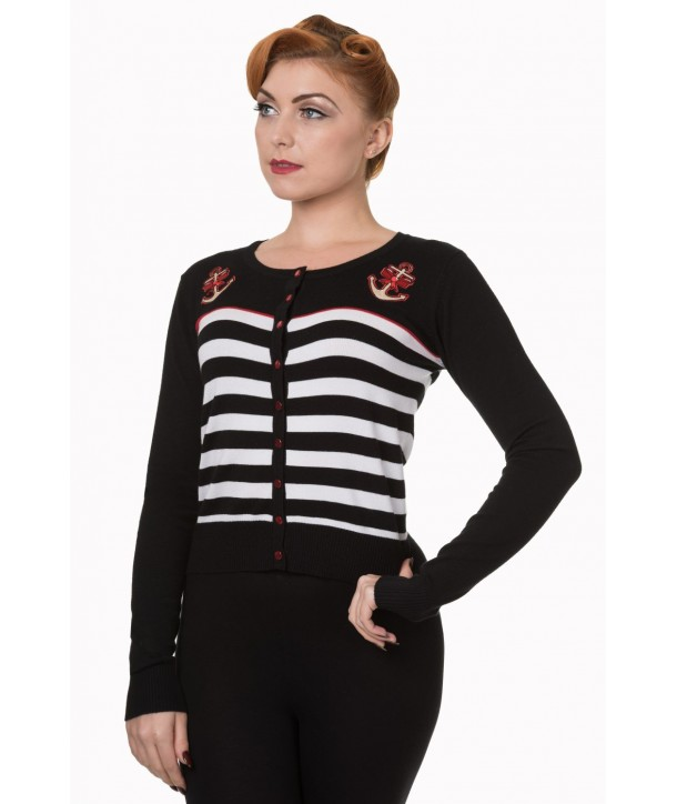 Cardigan Banned Clothing Private Party Black