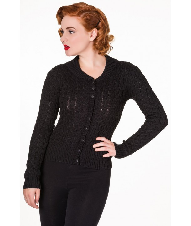 Cardigan Banned Clothing No Doubt Noir