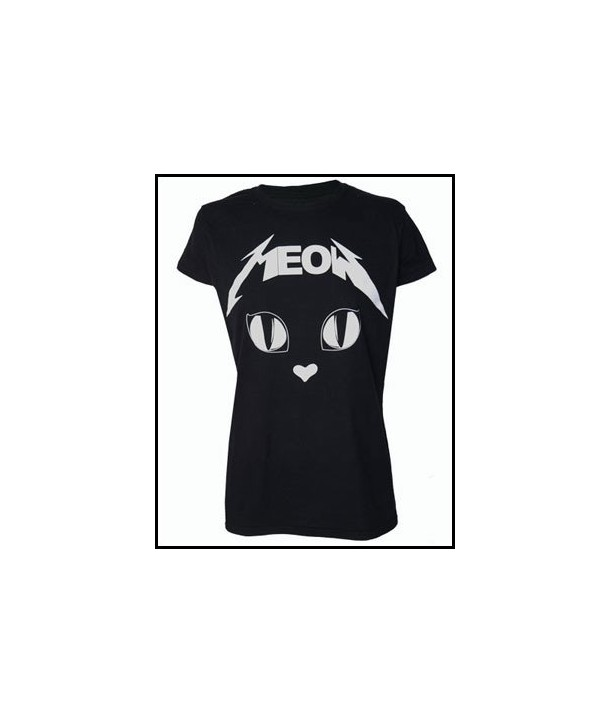 Tee Shirt Darkside Clothing Metal Meow