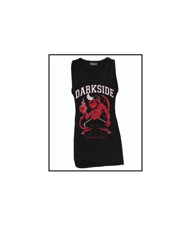 Debardeur Darkside Clothing Devils Own Black