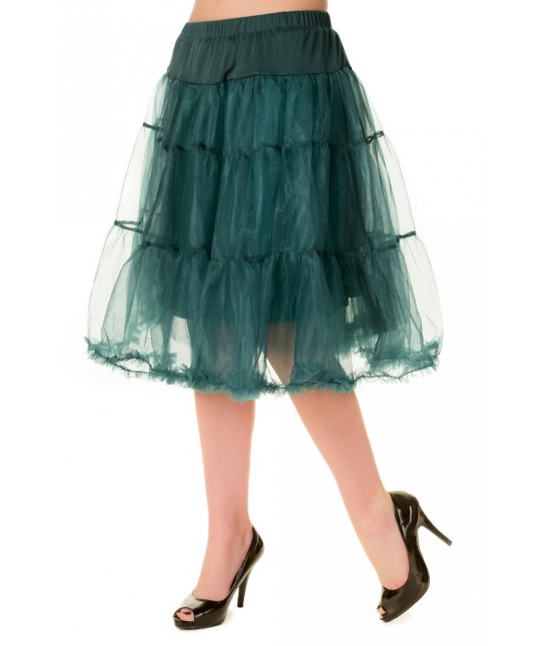 Tutu Banned Clothing Petticoat Skirt Vert