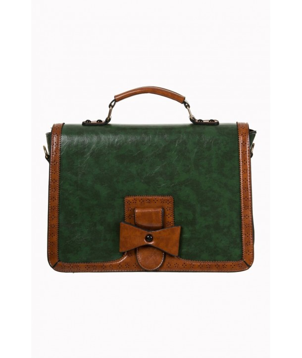 Sac Banned Clothing Changing Tides Handbag Forrest Vert/Tan