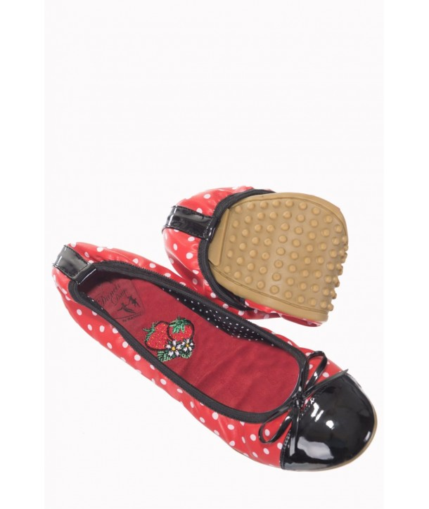 Chaussures Banned Clothing Erin Rouge/Noir