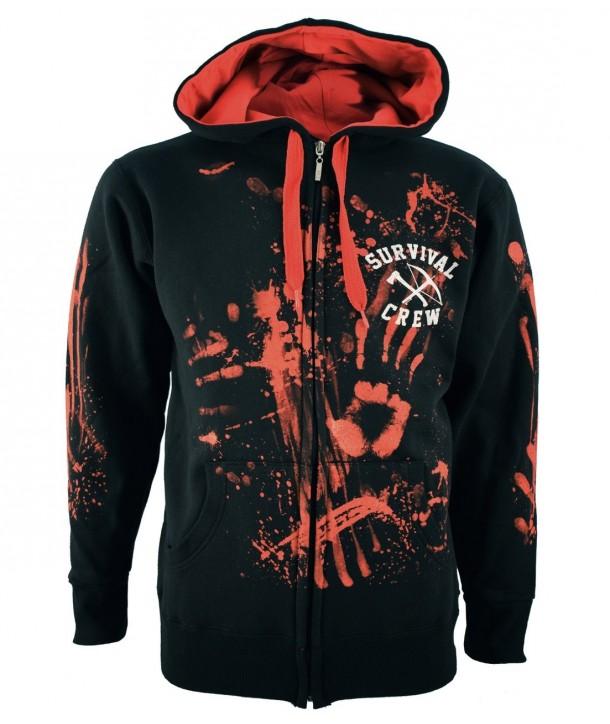 Sweat Shirt Veste Darkside Clothing Homme Zombie Killer 13