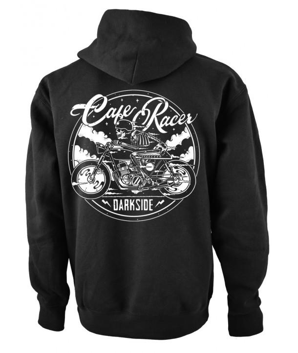 Sweat Shirt Veste Darkside Homme Cafe Racer