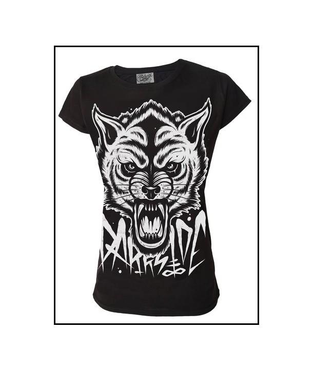 Tee Shirt Darkside Femme Wolf