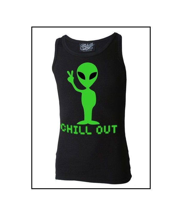 Debardeur Darkside Clothing Femme Alien Chill Out
