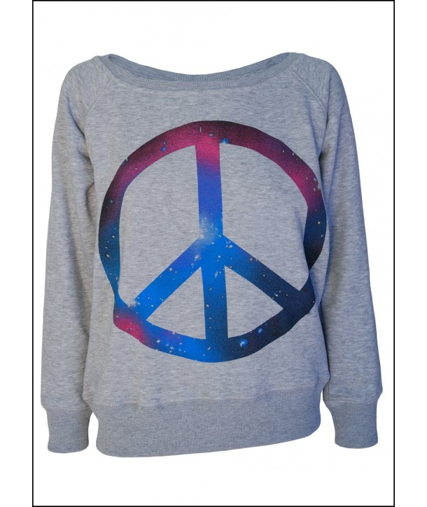 Pull Darkside Clothing Femme Cosmic Peace Sign
