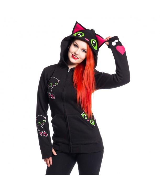 Sweat Shirt Cupcake Cult Black Cat