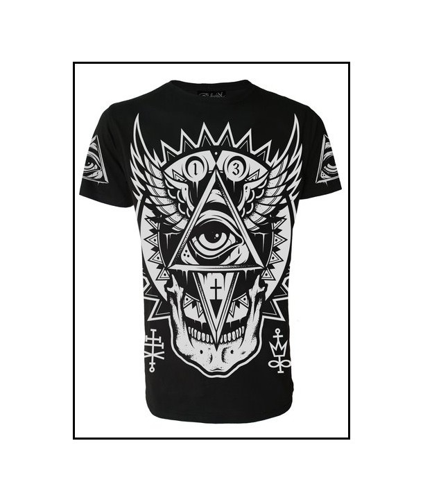 Tee Shirt Darkside Clothing Homme All Seeing Eye