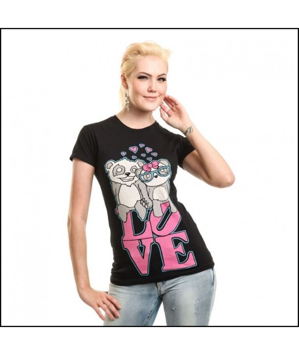 Tee Shirt Killer Panda Love To Hate