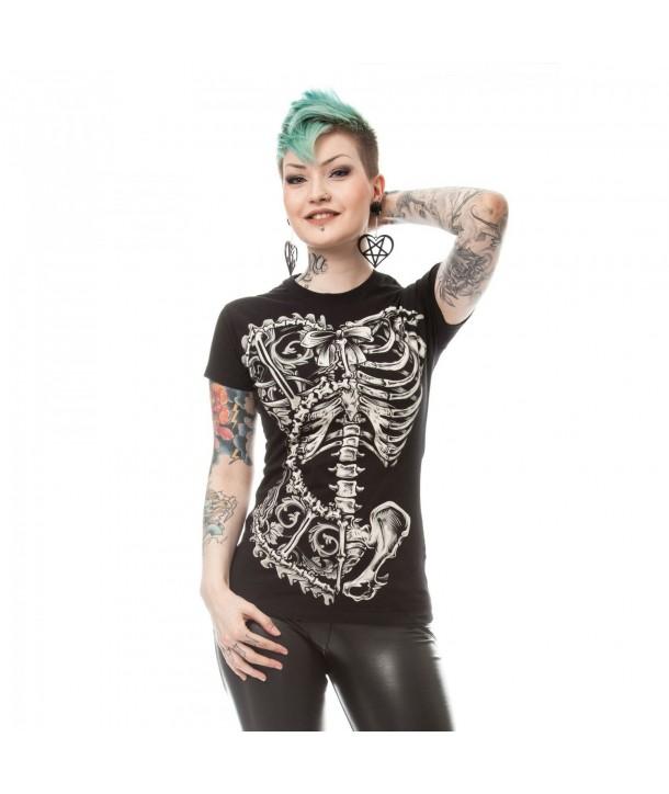Tee Shirt Vixxsin Bone Corset