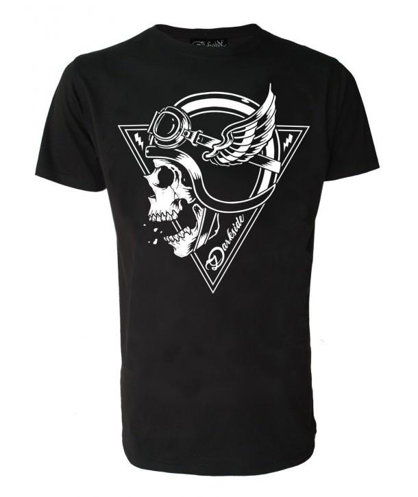 Tee Shirt Darkside Homme Crash Helmet