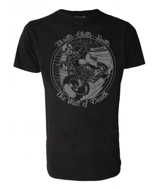 Tee Shirt Darkside Homme Wall Of Death