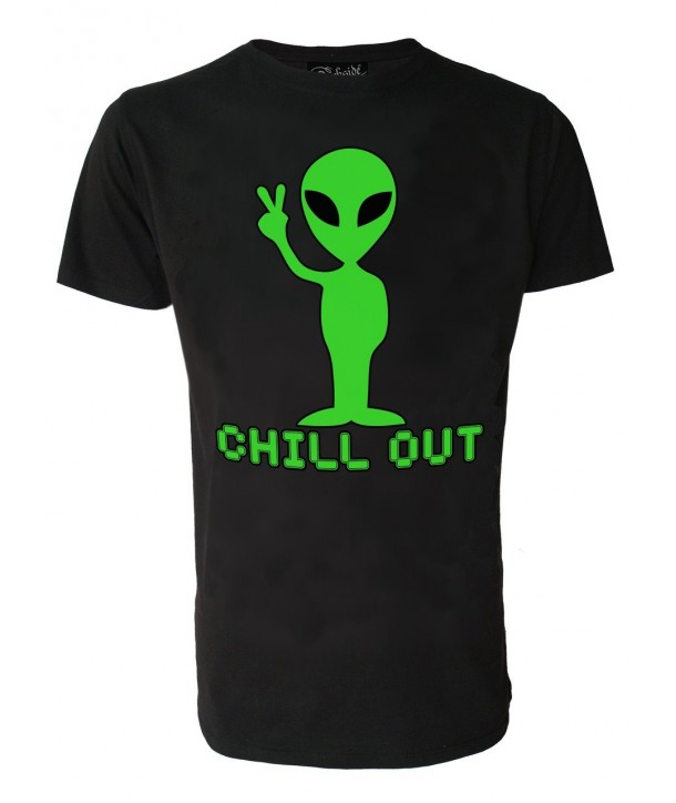 Tee Shirt Darkside Homme Alien Chill Out