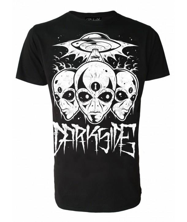 Tee Shirt Darkside Homme Triple Alien