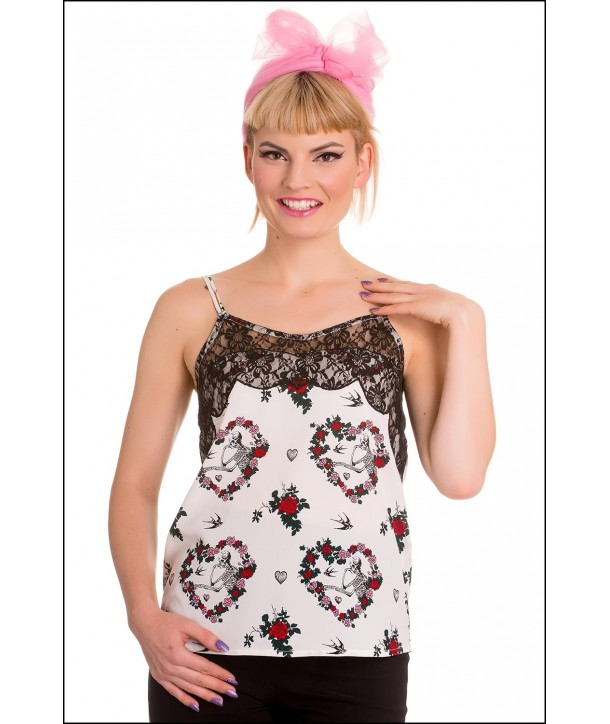 Top Hell Bunny Love Camisole