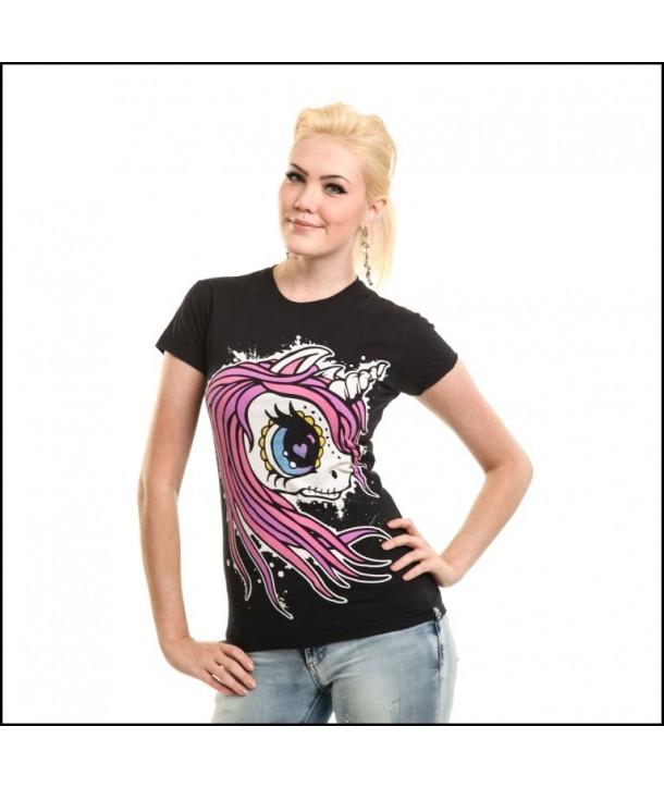 Tee Shirt Cupcake Cult Pony Tail
