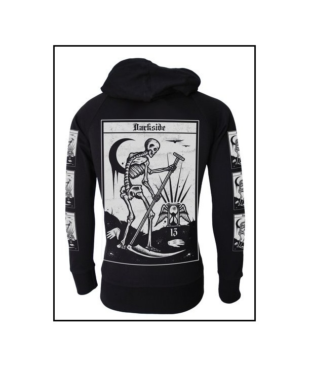 Sweat Shirt Veste Darkside Clothing Death Tarot Card