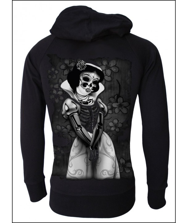 Sweat Shirt Veste Darkside Clothing Snow White