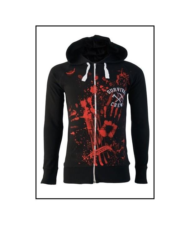 Sweat Shirt Veste Darkside Clothing Zombie Killer 13