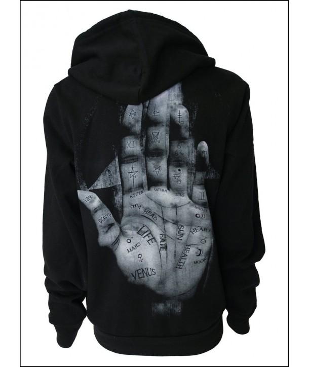 Sweat Shirt Veste Darkside Clothing Palm